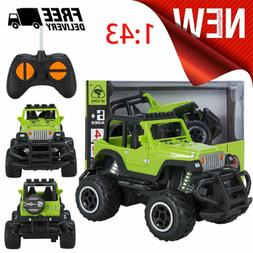 Toys Cars Remote Control Jeep Off-road Vehicle Kids RC Car T