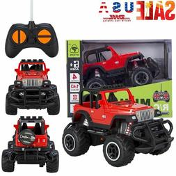 Toys for Kids RC Car Remote Control Jeep Suv Buggy Baby Boys