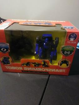 BlueHat Transforming Robot Radio Controlled Car with 49 MHz