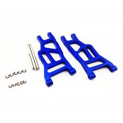 Atomik RC Alloy Front Lower Arm, Blue fits the Traxxas 1/10