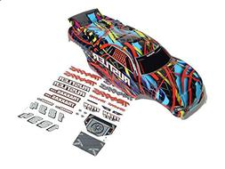 Traxxas Rustler Brushed or VXL Factory Painted Courtney Forc
