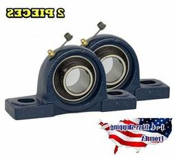 "4PCS UCP201-8 Pillow Block Bearing 1//2/"" Bore 2 Bolt Solid Base"