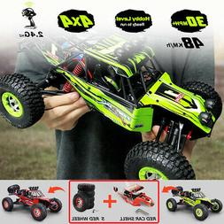 RC Monster Truck Car 1:12 Electric Powered 4WD 2.4Ghz Remote
