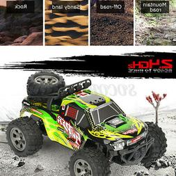 US 1:18 Scale RC Car Truck 2.4G 4WD Off Road High Speed Remo