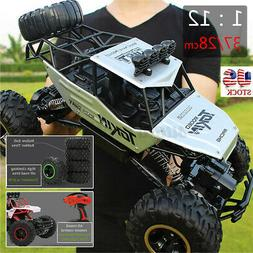 US 37CM 2.4Ghz RC Car 4WD Remote Control Vehicle Electric Mo