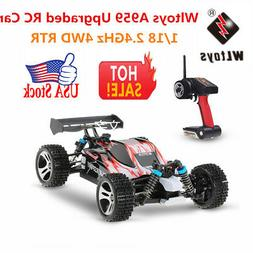 US Wltoys A959 Upgraded Version 1/18 2.4G 4WD RTR Off-Road B