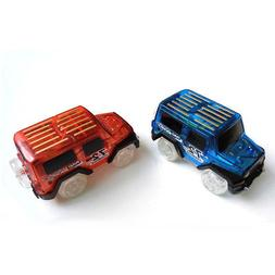 US Car for Magic Tracks Glow In The Dark Amazing Racetrack L