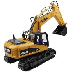 US RC Construction Truck Excavator Digger Remote Control Bul