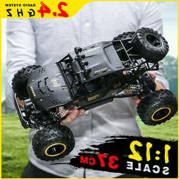 US RC Monster Truck Off Road Cars1/8 4WD Rock Crawler 45 °