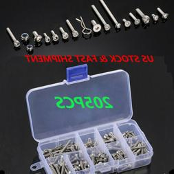 US Stainless Steel RC Screws Kit Parts for Traxxas Slash 4x4