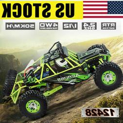 US Stock Wltoys 12428 1/12 2.4G 4WD Electric Brushed Crawler