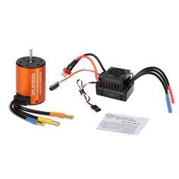 US GoolRC Upgrade Waterproof 3650 3900KV Brushless Motor W/