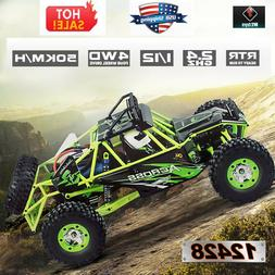 US Wltoys 12428 1/12 2.4G 4WD Electric Brushed Crawler RTR R