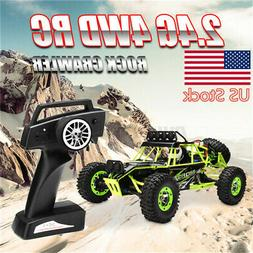 US WLTOYS 12428 1/12 RC Car 2.4G 4WD Scale Electric Crawler