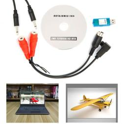 USB Flight Simulator Cable for JR Futaba