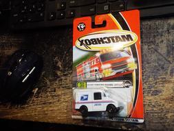 USPS POSTAL SERVICE TRUCK 2000 Matchbox Die Cast Car NIP #97