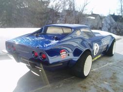 VATERRA V100 1969 CORVETTE UNPAINTED 1/10 RC CAR BODY KIT *F