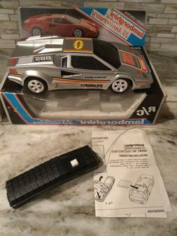 Vintage RC Car Lamborghini Countach 1989 MiSB 25th Anniversa