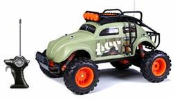 "Maisto Volkswagen Beetle RC CAR, 1:10 Scale Off Road 14"" RAD"