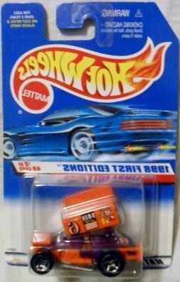 Hot Wheels - 1998 First Editions - Slideout - Sprint Car - P