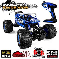 Distianert 1/12 Scale RC Truck 4WD Electric Amphibious RC Ca