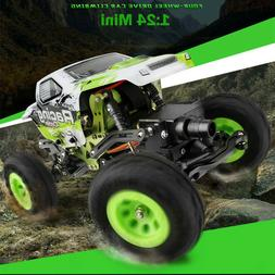 WL 1:24 24438 Rock Crawler 4WD Off-Road RC Electric Climbing