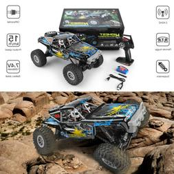 Wltoys 1/10 2.4GHz 4WD Waterproof Racing RC Car Off-Road Roc