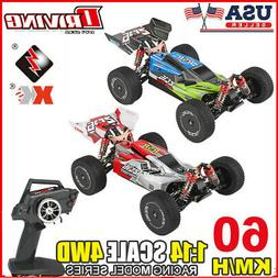 Wltoys XKS RC Car 60km/h1/14 2.4GHz RC Buggy 4WD Racing Off-