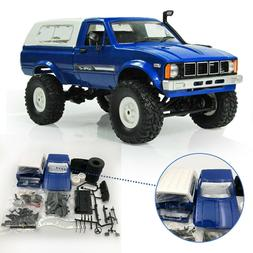 WPL C24 1/16 Kit 4WD 2.4G 2CH Military Truck Buggy Crawler O