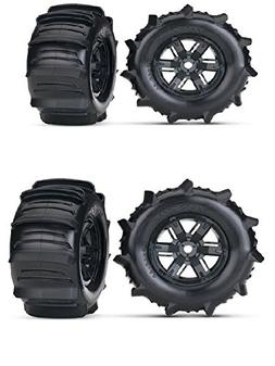 TRAXXAS X-MAXX PADDLE WHEELS THAT GIVE YOU THE ABILITY TO GO