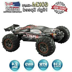 X03 Brushless 2.4G 1:10 4WD 60km/h High-speed Off-road Truck