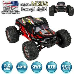 X04 Brushless 2.4G 1:10 4WD 60km/h High-speed Off-road Truck