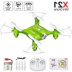 RC Drone Quadcopter Syma X21 2.4G 4CH 6-Axis Gyro Hovering 3