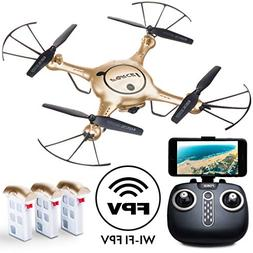 Force1 Drones with Camera for Adults and Kids - X5UW RC Quad
