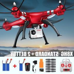 SYMA X8HG 4CH RC QUADCOPTER 8MP HD CAMERA DRONE 2MP Video AL