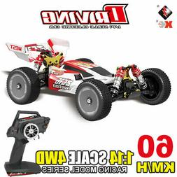 Wltoys RC Car 60km/h 1/14 2.4GHz RC Buggy 4WD Racing Off-Roa