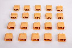 SummitLink 10 Pairs XT90 Male Female Connector for High-Amp