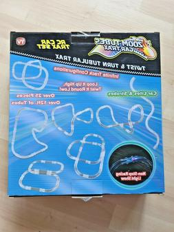 ZOOM TUBES CAR TRAX RC Car Trax Toy Set with 1 Blue Racer an